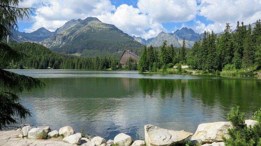 Štrbské Pleso, Tatra mountains in Slovakia