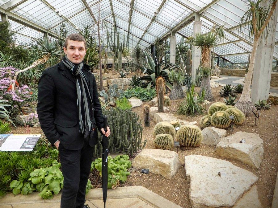 Visiting Royal Kew Gardens in London
