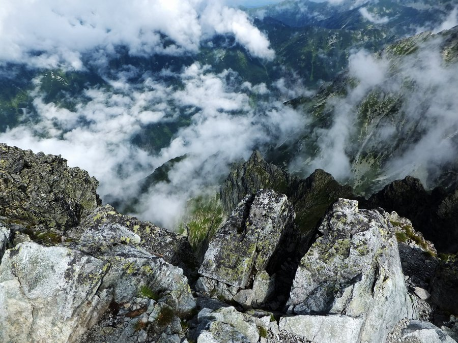 Hiking to Krivan in Slovak Tatra mountains