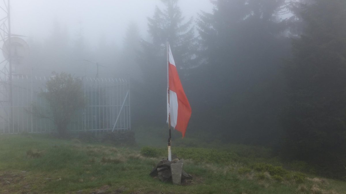 Family-friendly hiking trails in Silesian Beskid mountain range, southern Poland