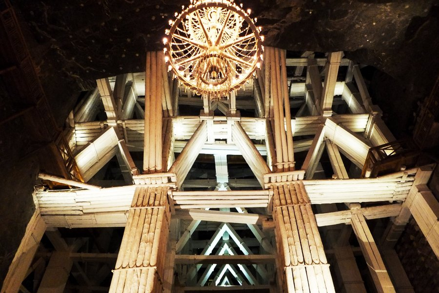 Wieliczka Salt Mine near Cracow, southern Poland