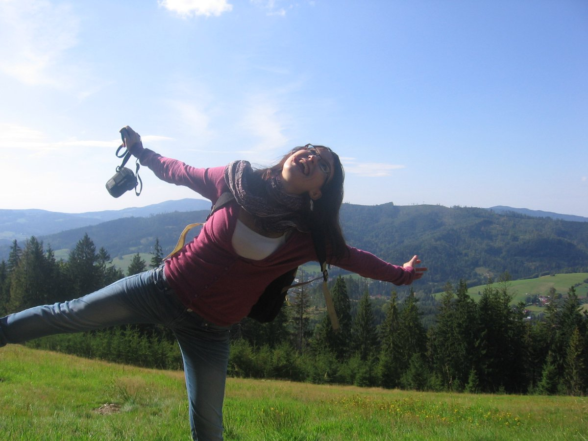 Beskid mountains, southern Poland