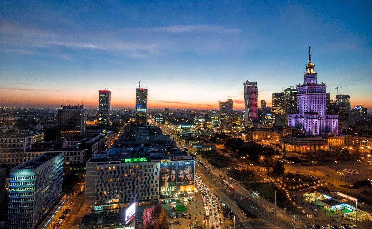 Capital of Poland - Warsaw city