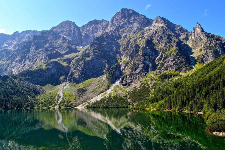 Morskie Oko lake Polish Tatras Best day hikes in Europe