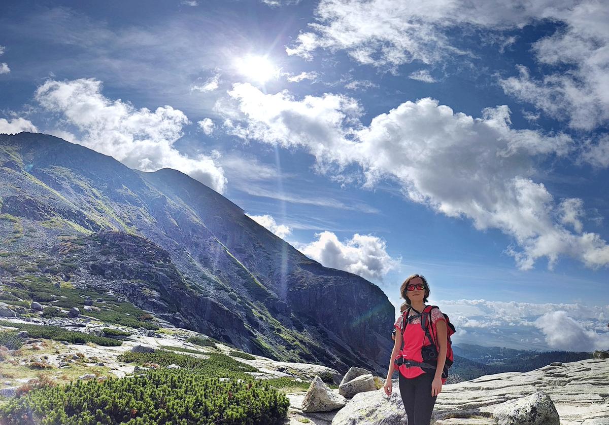 Bystra lawka tatra mountains vodospad skok