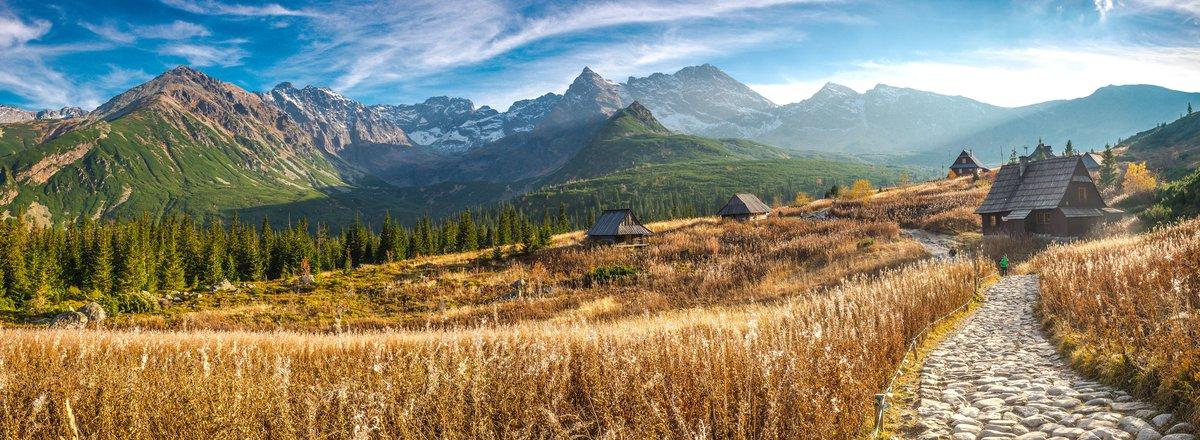 Tatra mountains and huts