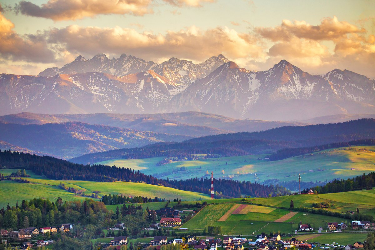 Tatra mountains overview