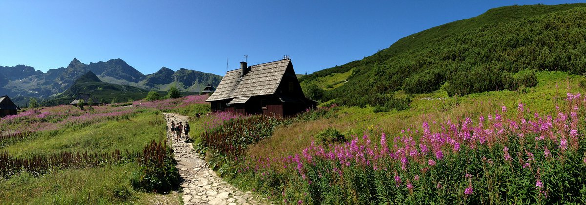 Hiking trail in Tatra National Park