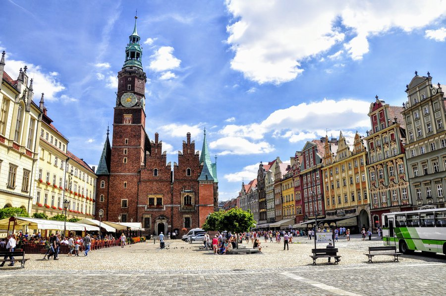 Wroclaw Main Square Poland. Cool things to do in Wroclaw