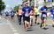Running half marathon