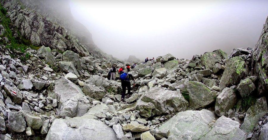 Rysy Poland trail